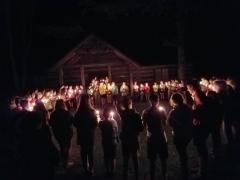 Candle Lighting Ceremony